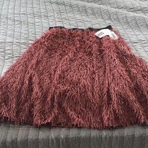 New Lularoe Elegant Jill skirt XS mauve feather